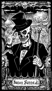 Baron Samedi (apparently by someone named Demigorgon)