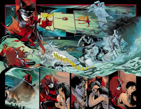 Batwoman 1pg6and7 clr ashkldjf7