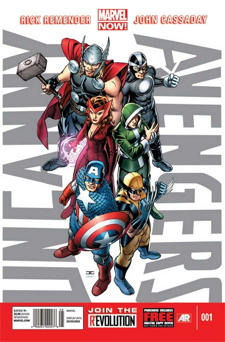 UncannyAvengers 1 Cover